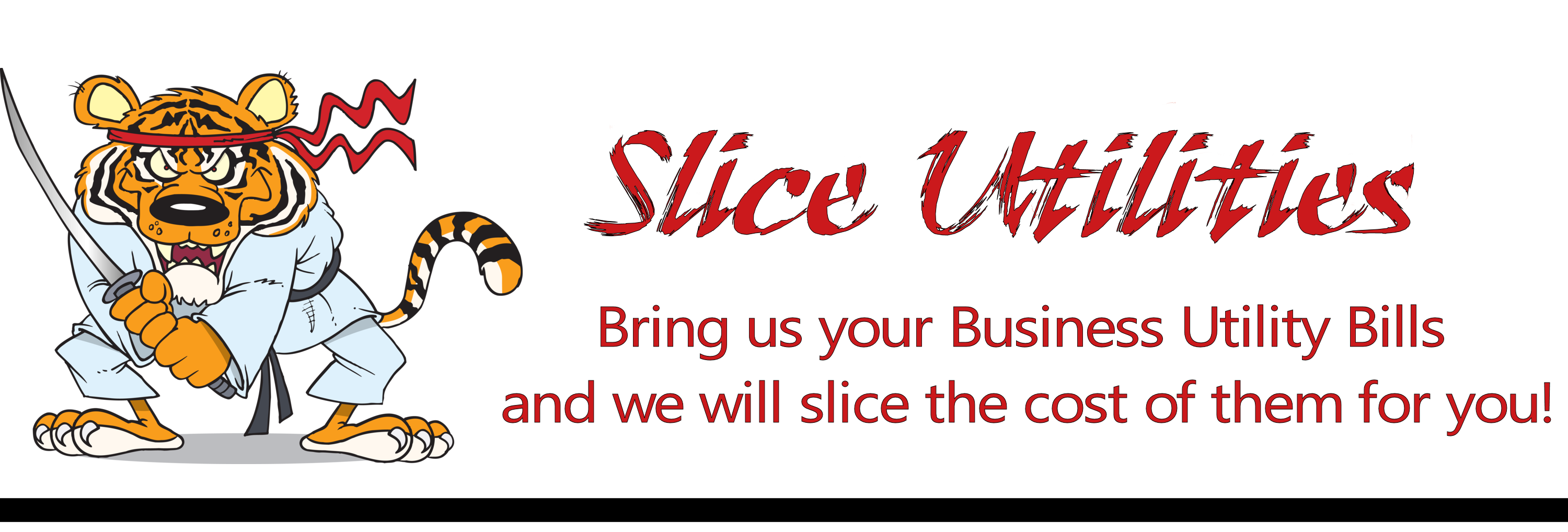 Silce Utilities - Bring us your busiiness Utility Bills and we will slice the cost of them for you!